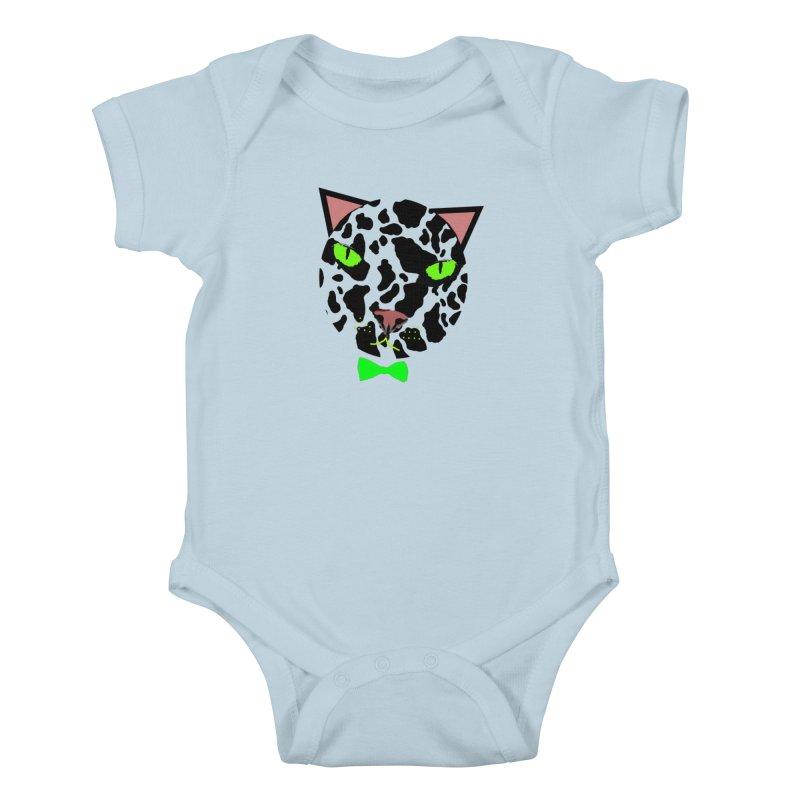 Meow! Kids Baby Bodysuit by Mirabelle Digital Art shop