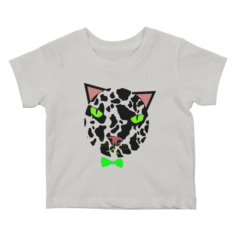 Meow! Kids Baby T-Shirt by Mirabelle Digital Art shop