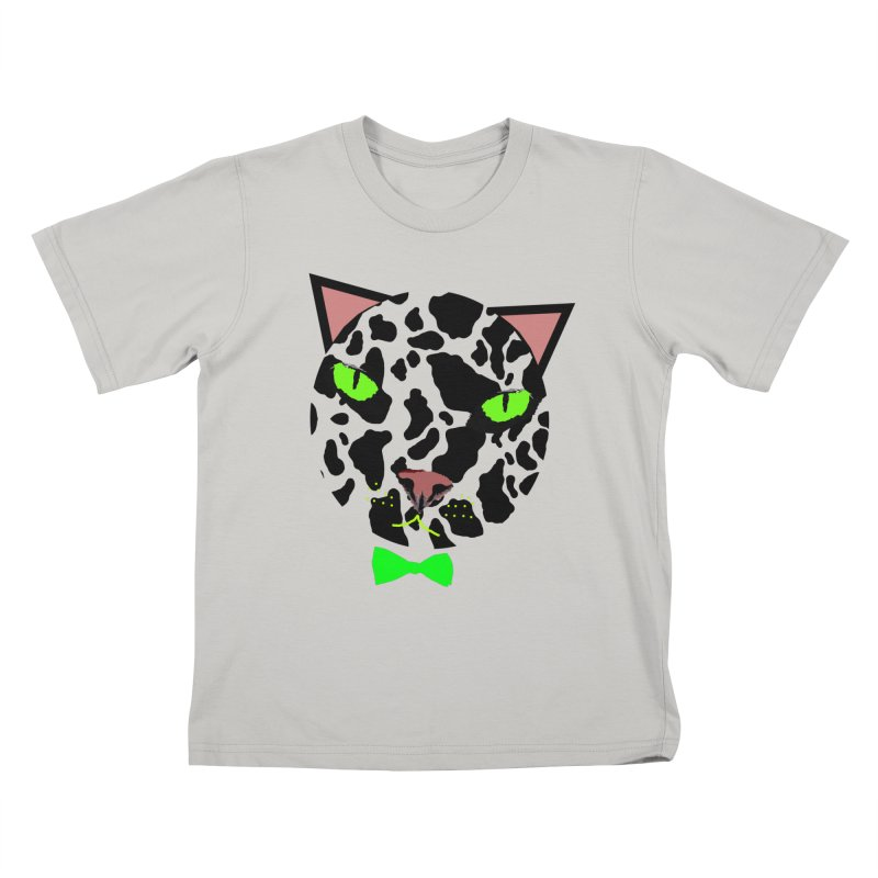 Meow! Kids T-shirt by Mirabelle Digital Art shop