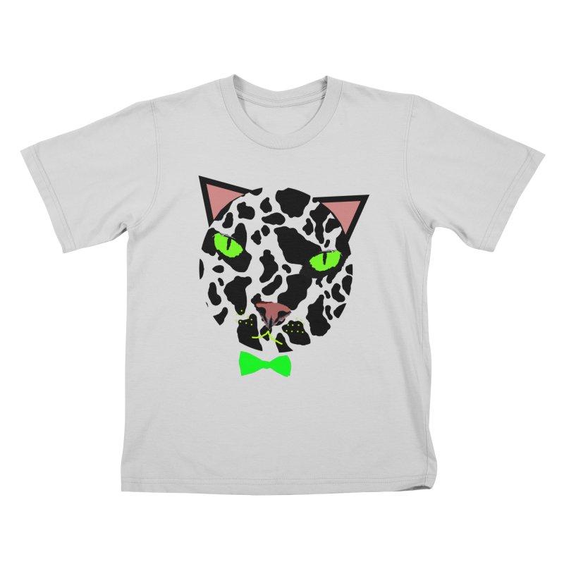 Meow! Kids T-Shirt by Mirabelle Digital Art shop