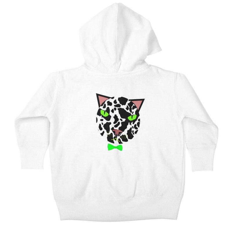 Meow! Kids Baby Zip-Up Hoody by Mirabelle Digital Art shop