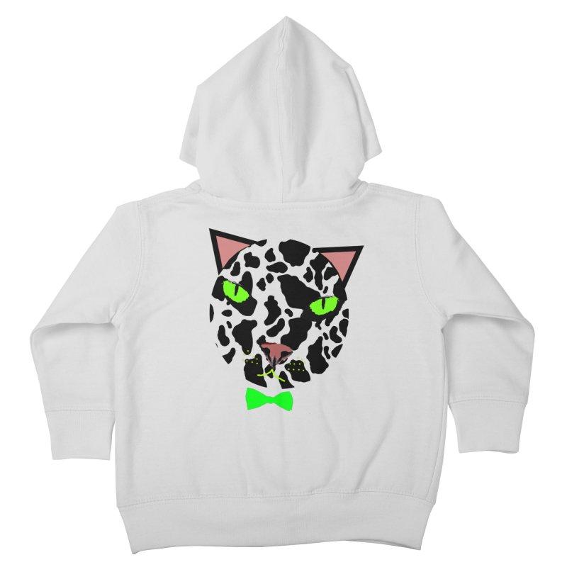 Meow! Kids Toddler Zip-Up Hoody by Mirabelle Digital Art shop