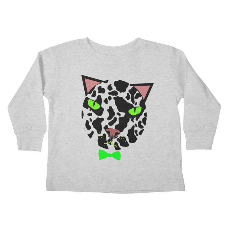 Meow! Kids Toddler Longsleeve T-Shirt by Mirabelle Digital Art shop