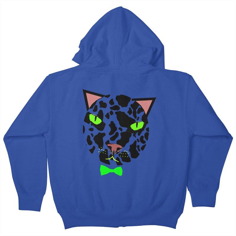 Meow! Kids Zip-Up Hoody by Mirabelle Digital Art shop