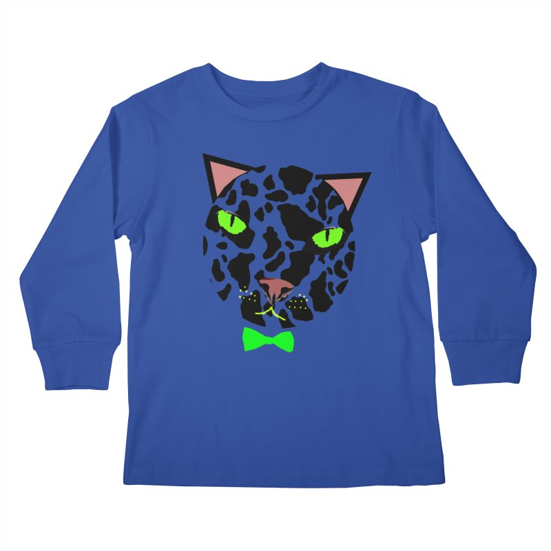 Meow! Kids Longsleeve T-Shirt by Mirabelle Digital Art shop