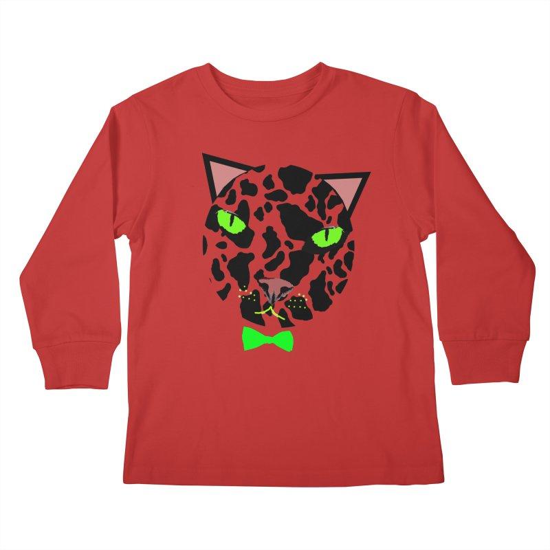 Meow! Kids Longsleeve T-Shirt by Mirabelle Digital Art shop