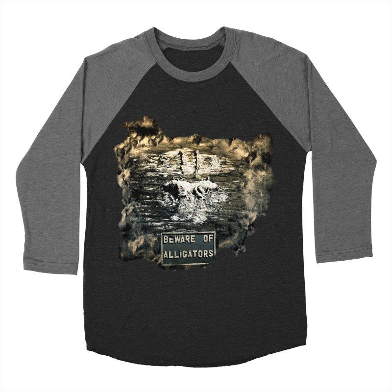 Beware! Men's Baseball Triblend T-Shirt by Mirabelle Digital Art shop