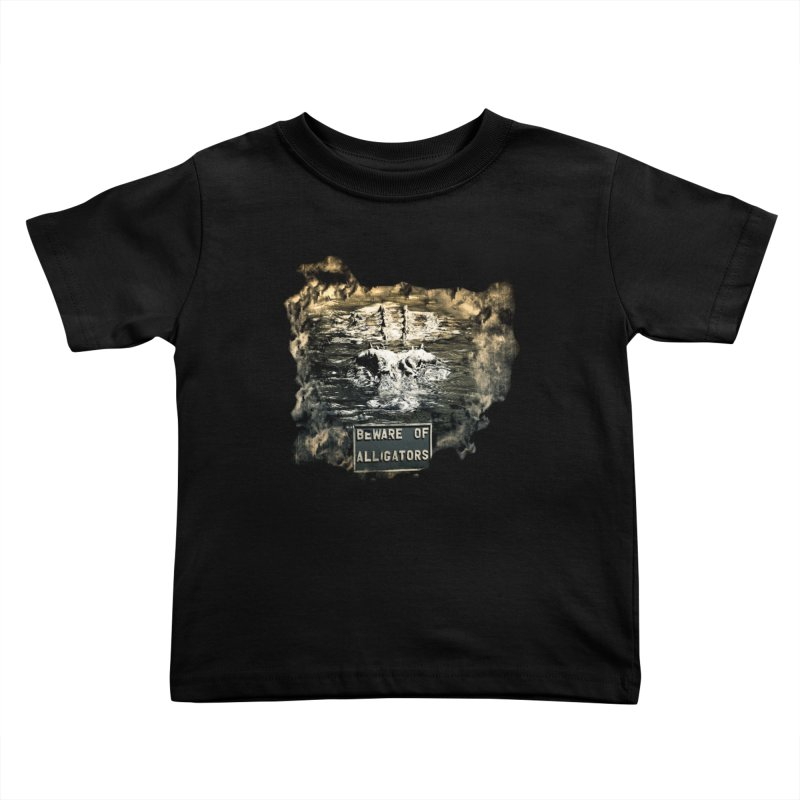 Beware! Kids Toddler T-Shirt by Mirabelle Digital Art shop