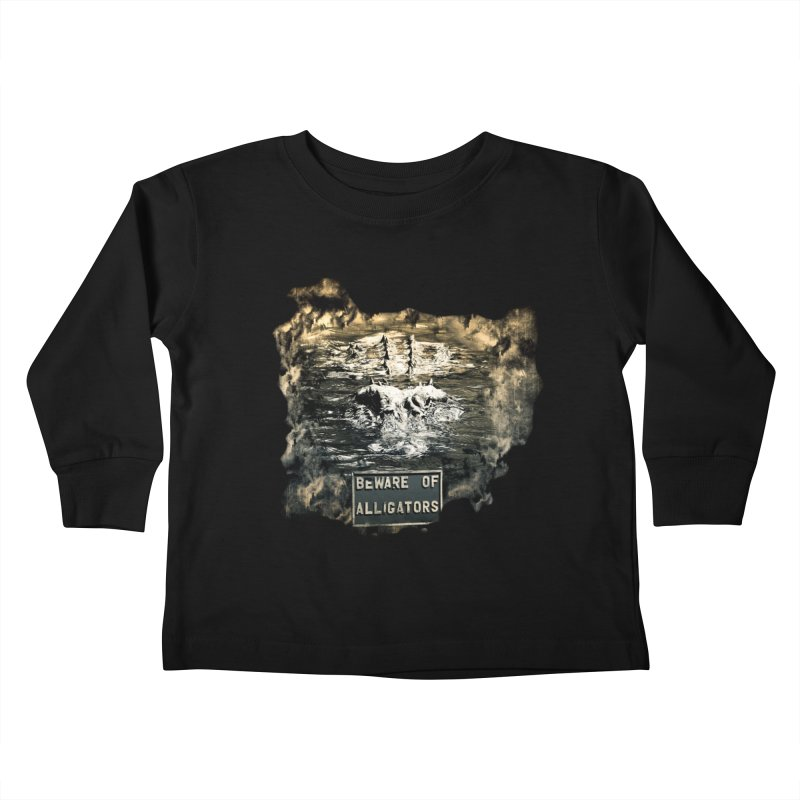 Beware! Kids Toddler Longsleeve T-Shirt by Mirabelle Digital Art shop