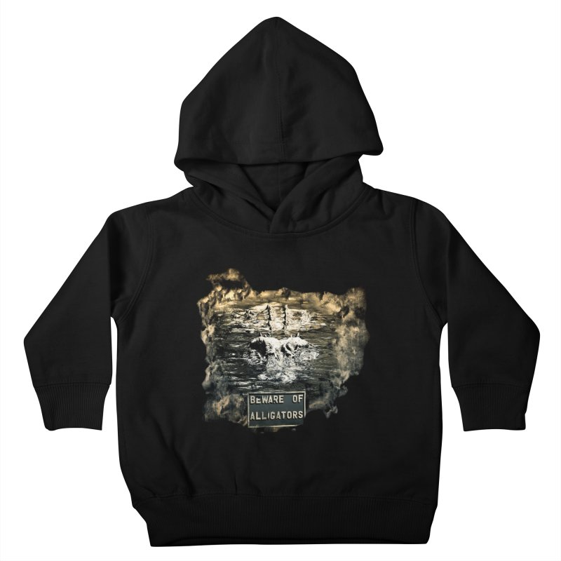 Beware! Kids Toddler Pullover Hoody by Mirabelle Digital Art shop