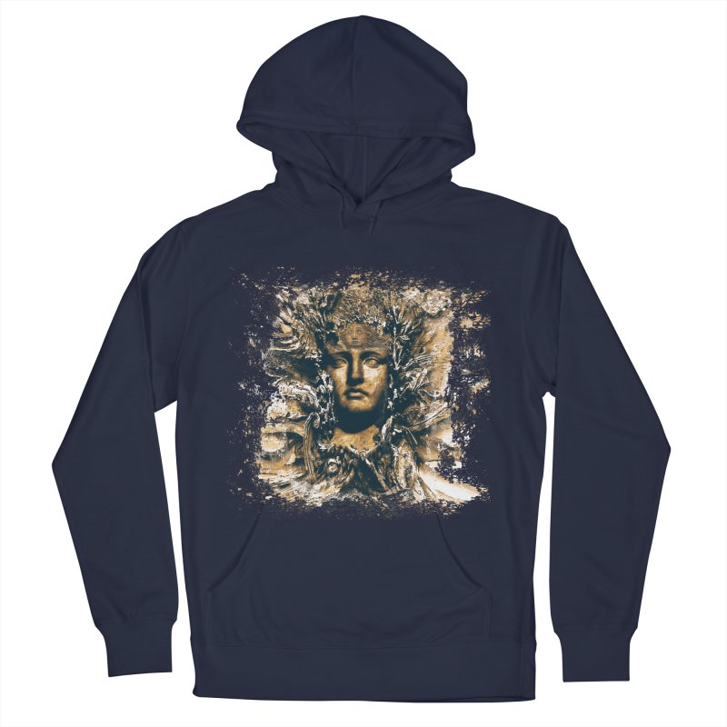 Goddess Of The Sun Women's French Terry Pullover Hoody by Mirabelle Digital Art shop