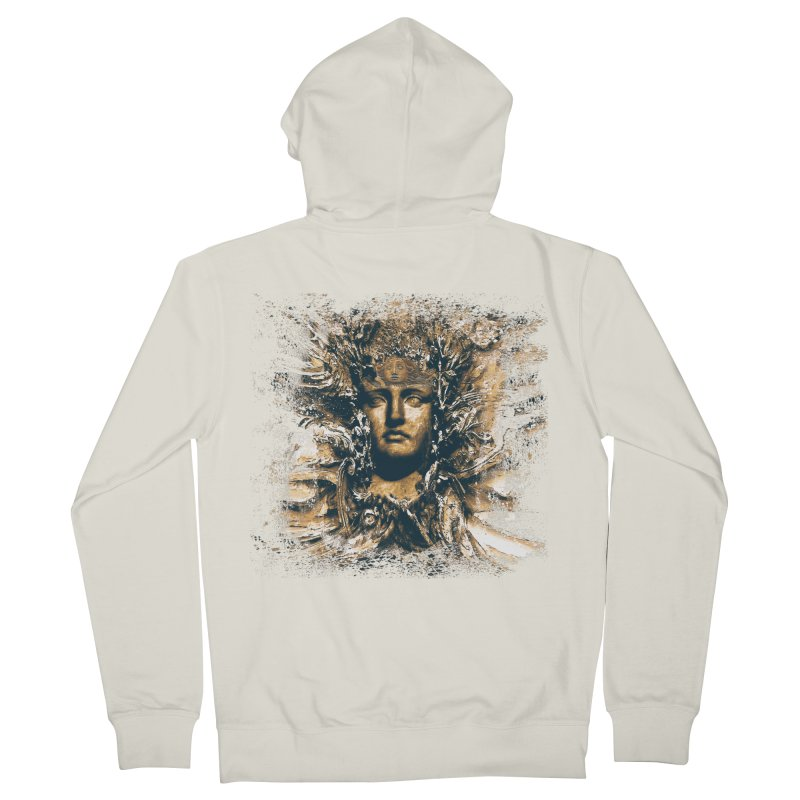 Goddess Of The Sun Women's Zip-Up Hoody by Mirabelle Digital Art shop