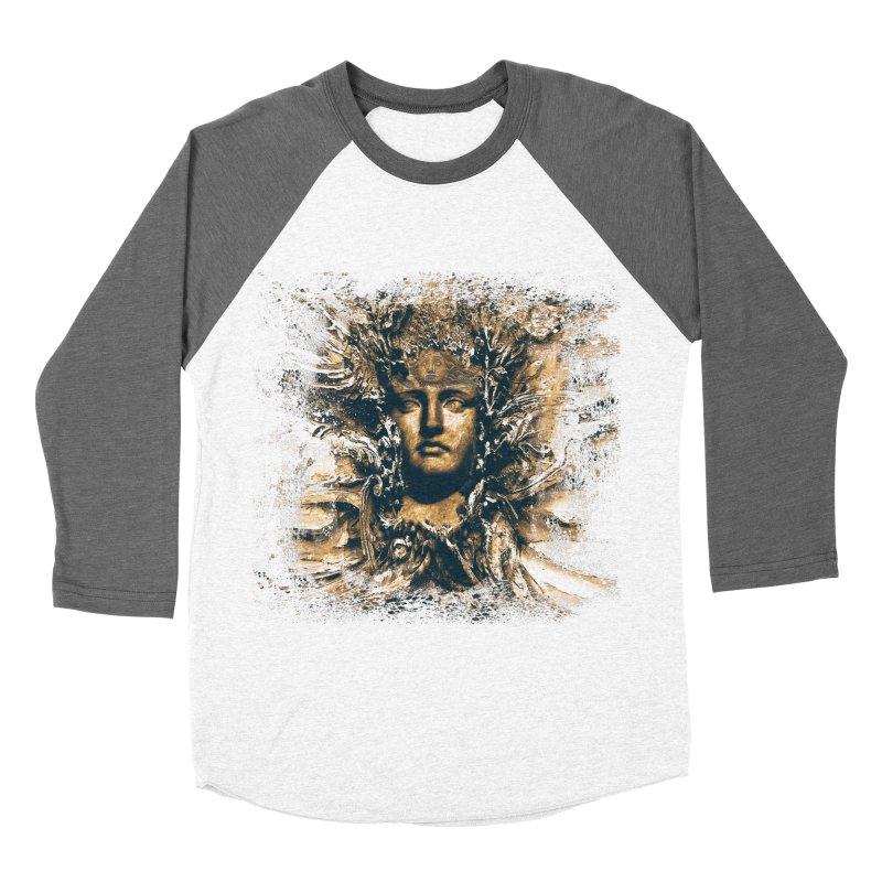 Goddess Of The Sun Women's Baseball Triblend Longsleeve T-Shirt by Mirabelle Digital Art shop