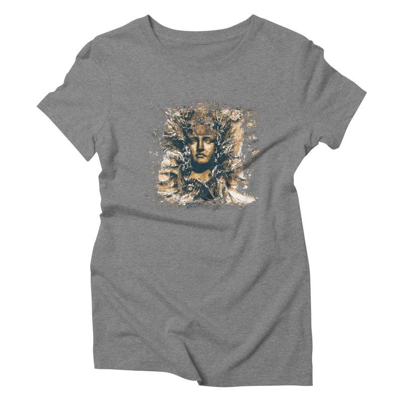 Goddess Of The Sun Women's Triblend T-shirt by Mirabelle Digital Art shop