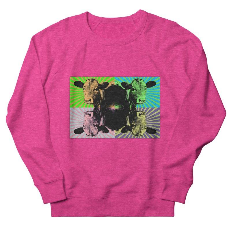 Popart cow Men's Sweatshirt by Mirabelle Digital Art shop