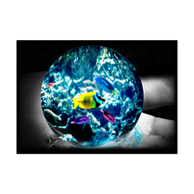 Globe with the ocean in his hands by Mirabelle Digital Art shop