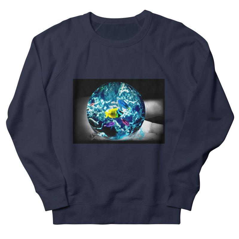 Globe with the ocean in his hands Women's Sweatshirt by Mirabelle Digital Art shop