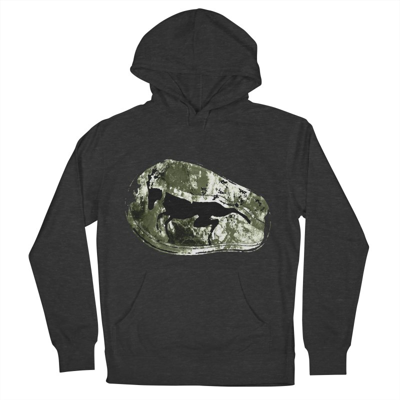 Running deer Men's Pullover Hoody by Mirabelle Digital Art shop