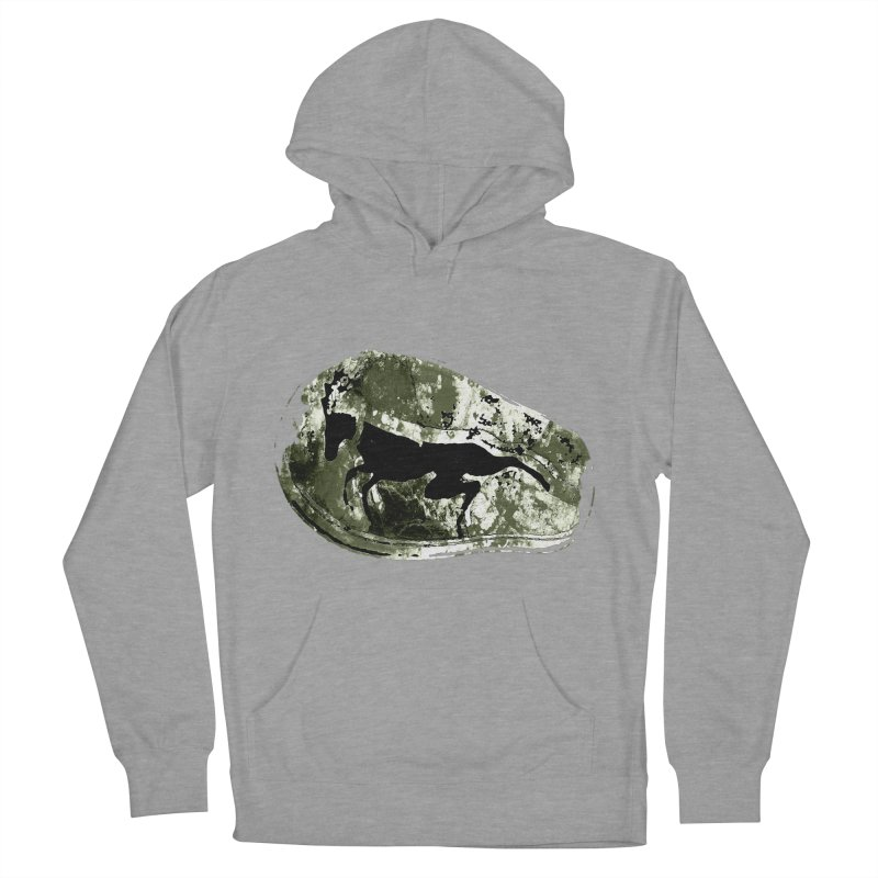Running deer Men's French Terry Pullover Hoody by Mirabelle Digital Art shop