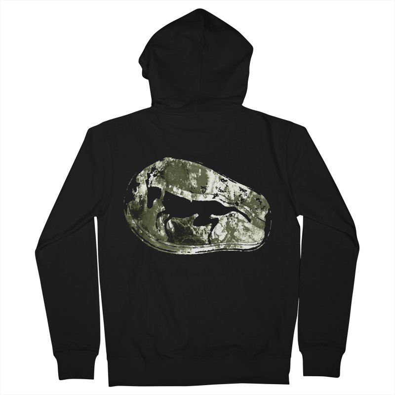 Running deer Men's French Terry Zip-Up Hoody by Mirabelle Digital Art shop