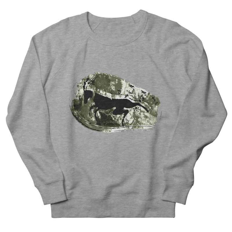 Running deer Men's Sweatshirt by Mirabelle Digital Art shop