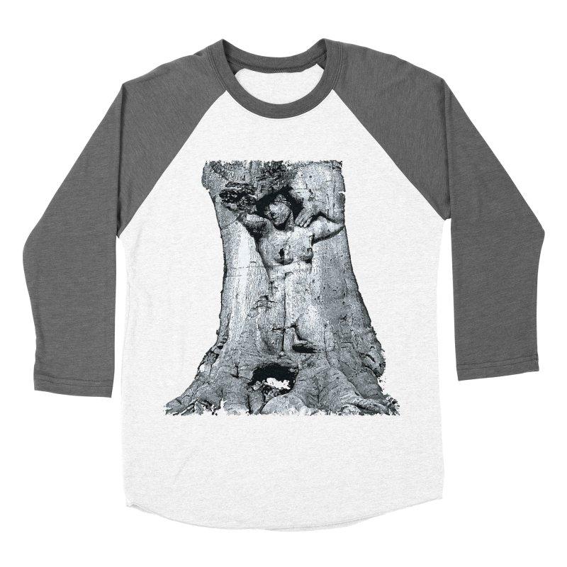 Hidden lady Women's Baseball Triblend T-Shirt by Mirabelle Digital Art shop