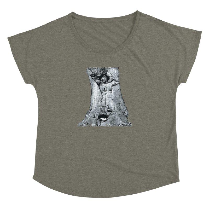 Hidden lady Women's Dolman Scoop Neck by Mirabelle Digital Art shop