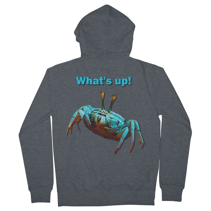 What's up! Men's Zip-Up Hoody by Mirabelle Digital Art shop