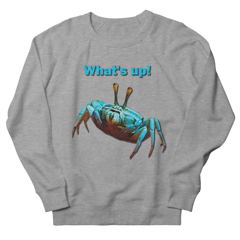 What's up! Men's Sweatshirt by Mirabelle Digital Art shop