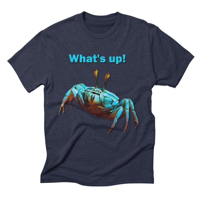 What's up! Men's Triblend T-Shirt by Mirabelle Digital Art shop