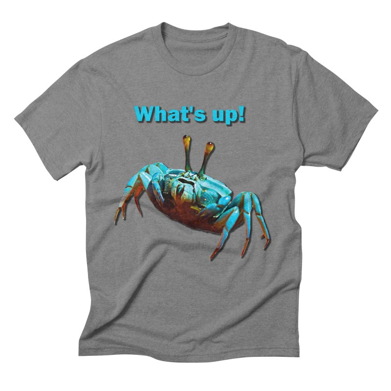 What's up! Men's Triblend T-Shirt by Mirabelle Digital Art shop