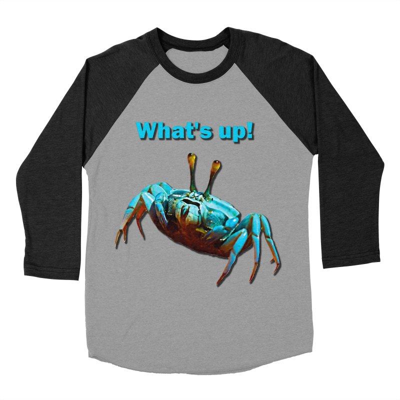 What's up! Men's Baseball Triblend T-Shirt by Mirabelle Digital Art shop