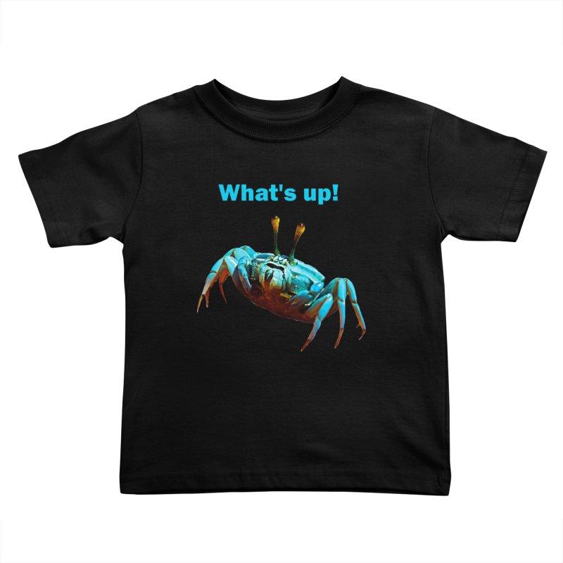 What's up! Kids Toddler T-Shirt by Mirabelle Digital Art shop