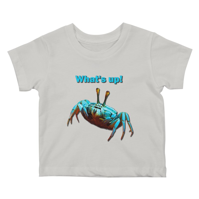 What's up! Kids Baby T-Shirt by Mirabelle Digital Art shop