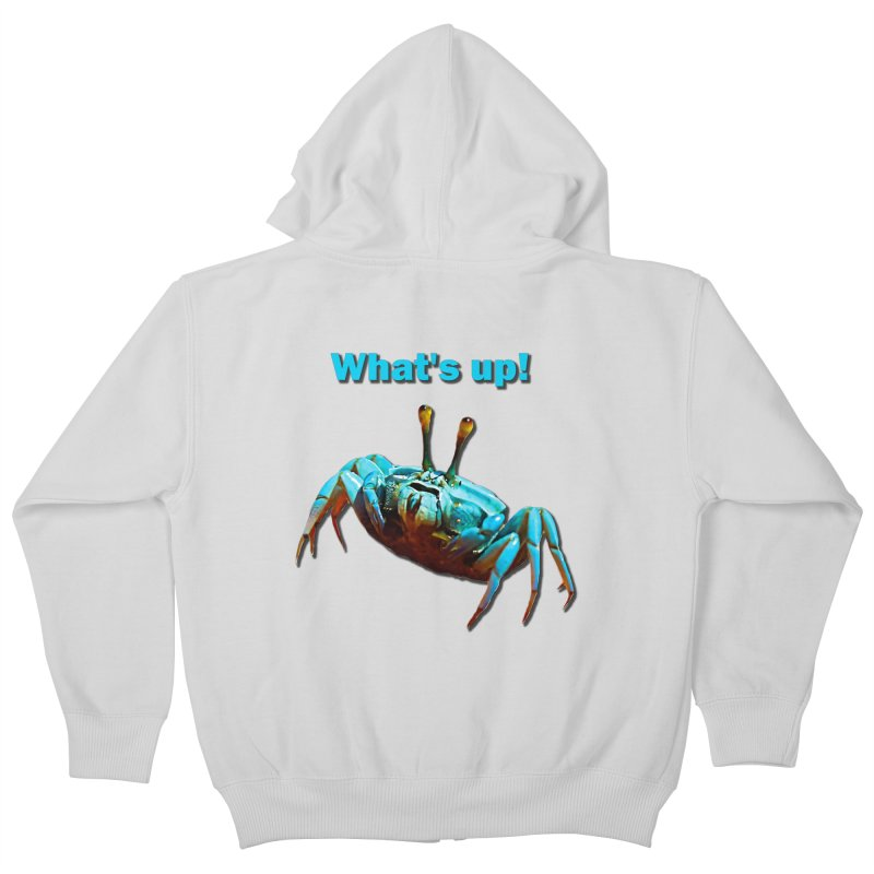 What's up! Kids Zip-Up Hoody by Mirabelle Digital Art shop