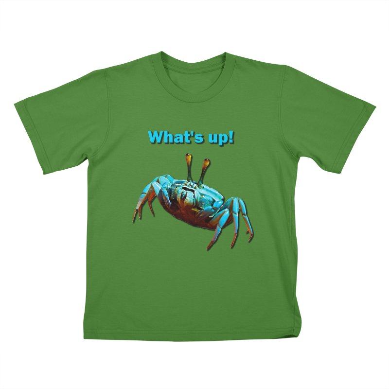 What's up! Kids T-Shirt by Mirabelle Digital Art shop