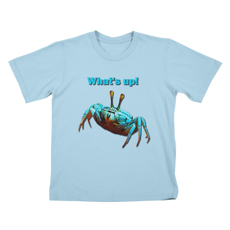 What's up! Kids T-shirt by Mirabelle Digital Art shop