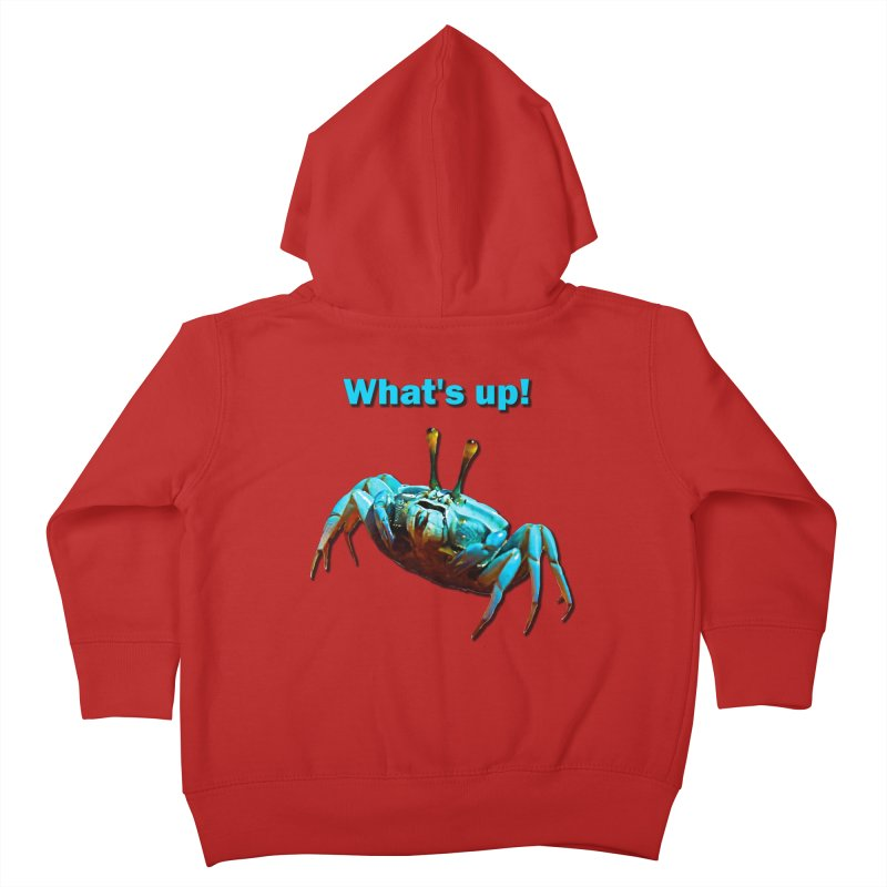 What's up! Kids Toddler Zip-Up Hoody by Mirabelle Digital Art shop
