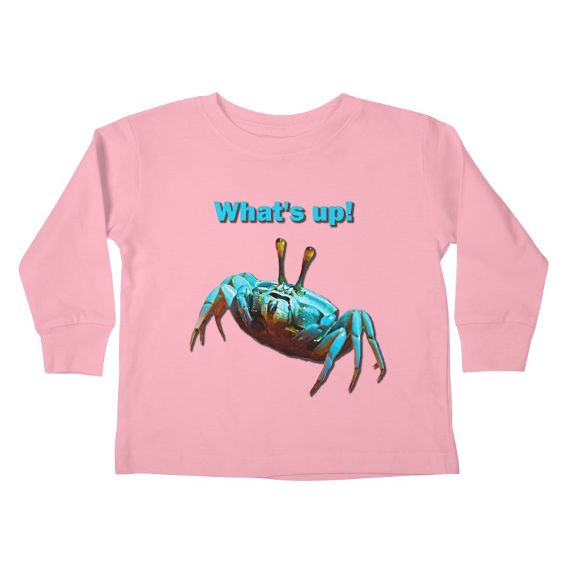 What's up! Kids Toddler Longsleeve T-Shirt by Mirabelle Digital Art shop
