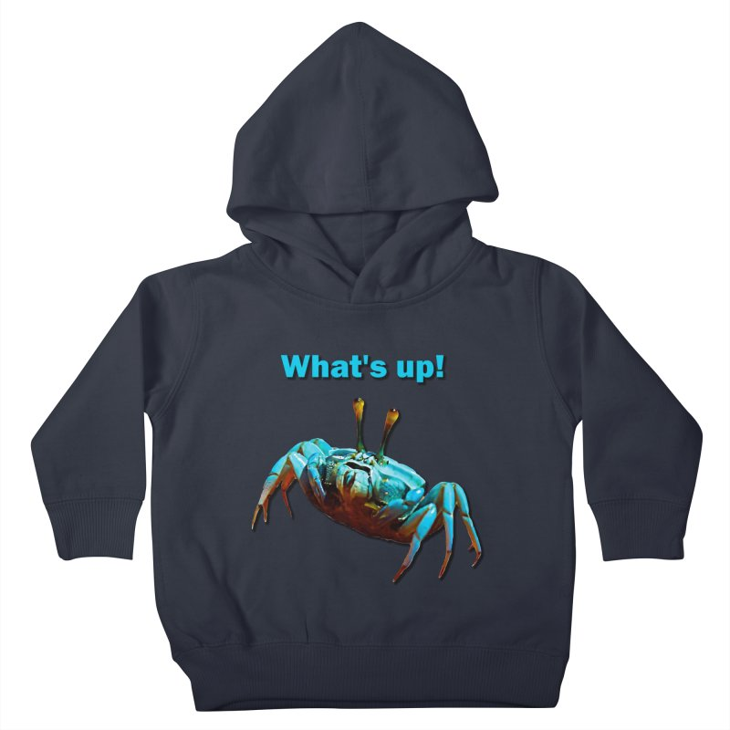 What's up! Kids Toddler Pullover Hoody by Mirabelle Digital Art shop
