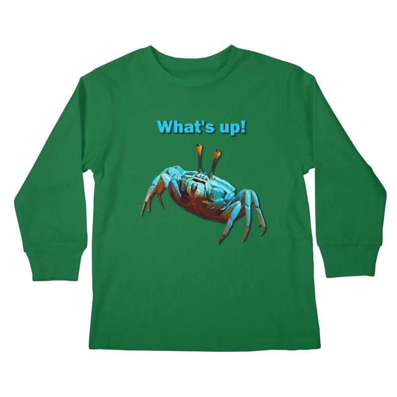 What's up! Kids Longsleeve T-Shirt by Mirabelle Digital Art shop
