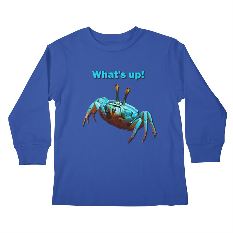What's up! Kids Longsleeve T-Shirt by Mirabelle Digital Art shop