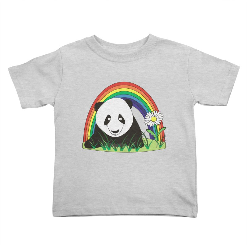 Cute panda Kids Toddler T-Shirt by Mirabelle Digital Art shop