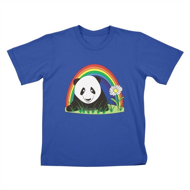 Cute panda Kids T-shirt by Mirabelle Digital Art shop