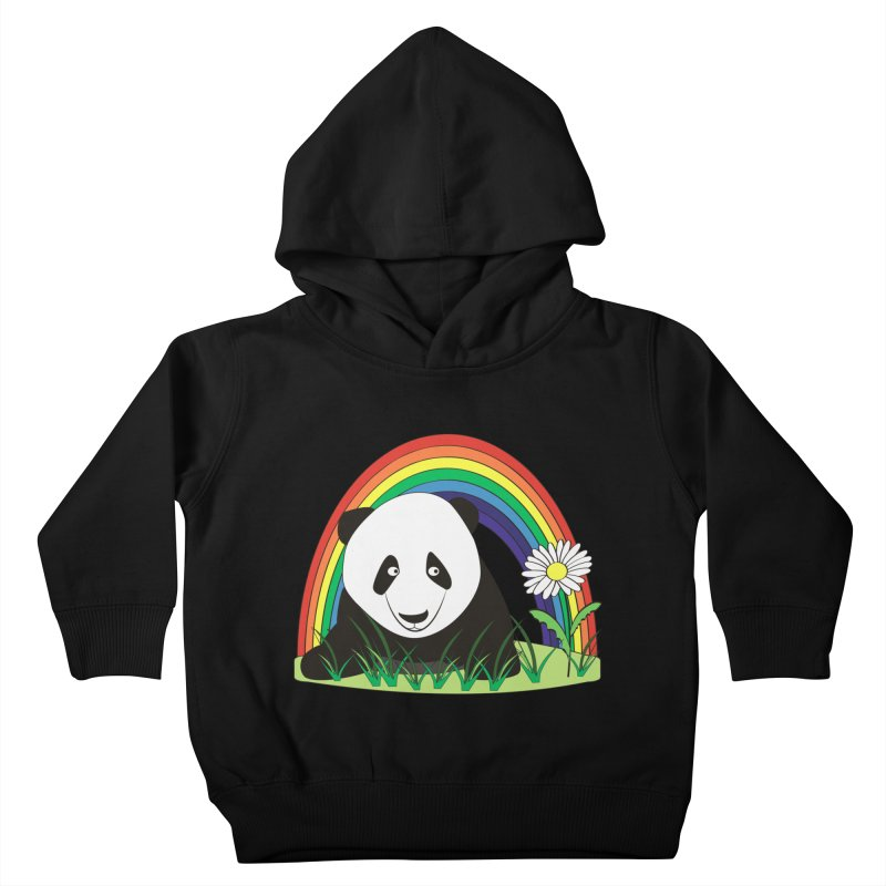 Cute panda Kids Toddler Pullover Hoody by Mirabelle Digital Art shop
