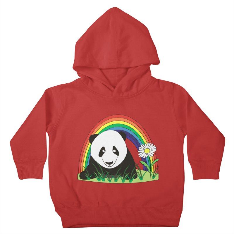 Cute panda Kids Toddler Pullover Hoody by Mirabelle Digital Art shop