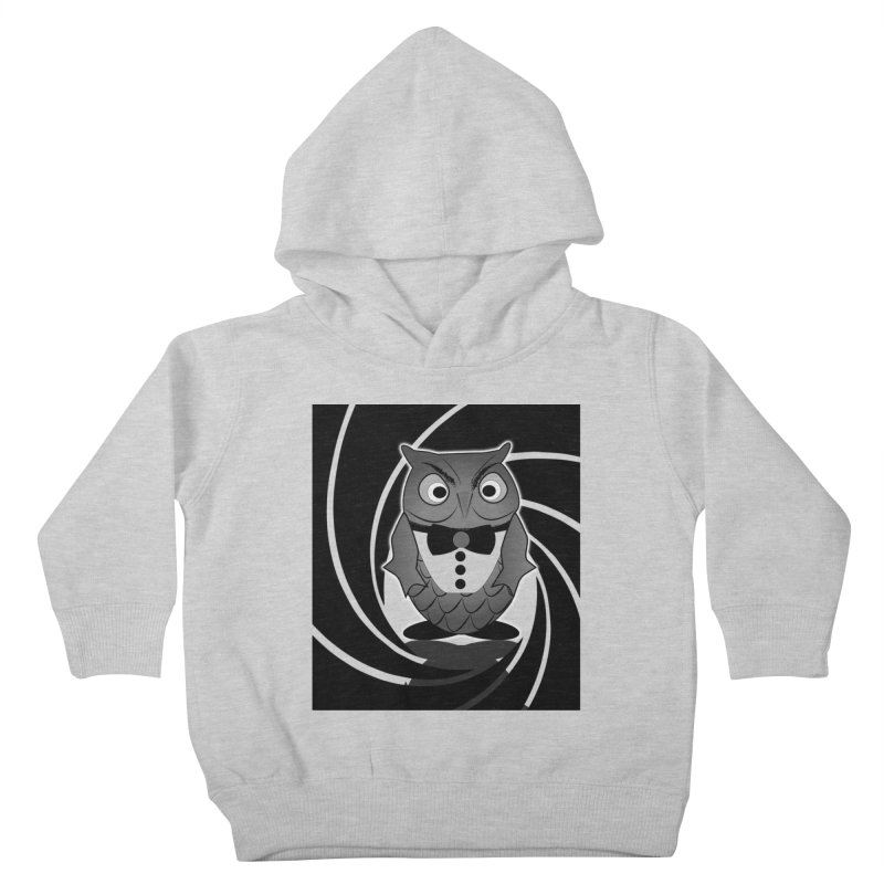 Double 0 Owl Kids Toddler Pullover Hoody by Mirabelle Digital Art shop