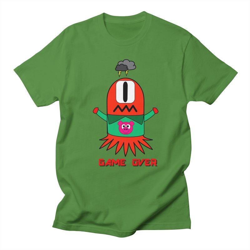 Game over Men's T-Shirt by Mirabelle Digital Art shop