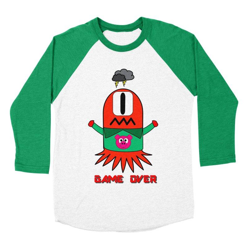 Game over Men's Baseball Triblend T-Shirt by Mirabelle Digital Art shop