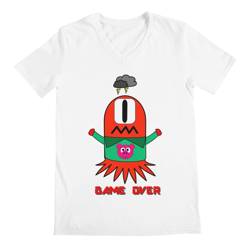 Game over Men's V-Neck by Mirabelle Digital Art shop